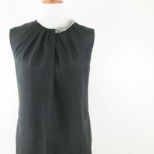 3.1 Phillip Lim Target Sheath Dress XS Jewel Black